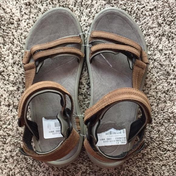 2609e441ee28c8 Teva Terra Fi Lite Leather Sandals